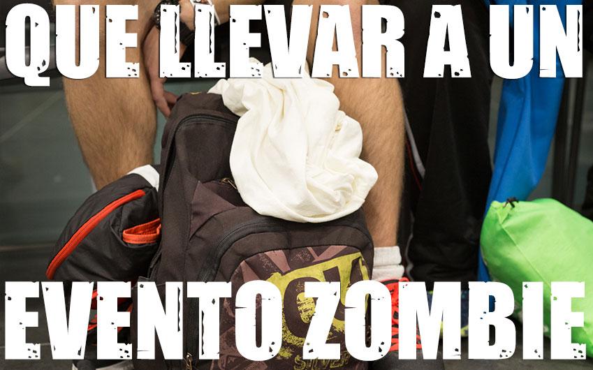 que llevar survival zombie
