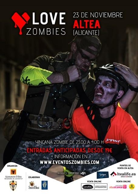 Evento Zombie Altea 2019